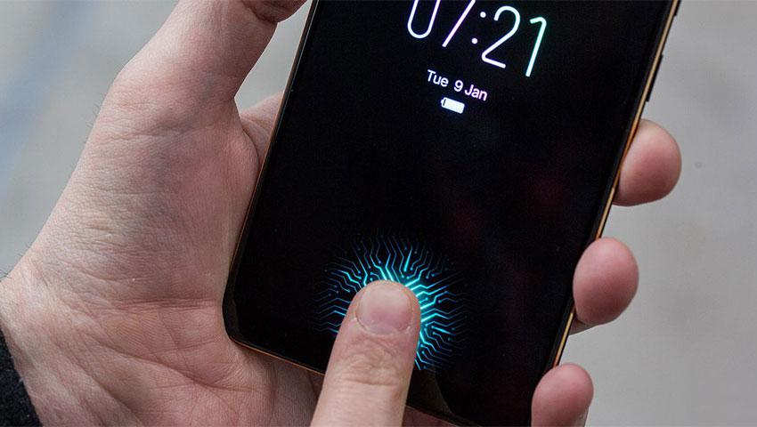 اسکنر اثر انگشت زیر نمایشگر ترند جدید دنیای گوشیهای هوشمند است
