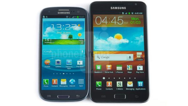 Samsung Galaxy S3 vs Galaxy Note 600x339 - گلکسی نوت 10 ساخته میشود یا نوت 9 آخرین مدل از این سری خواهد بود؟!