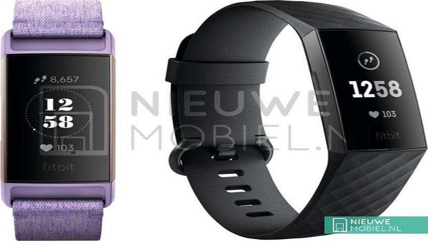 fitibt charge 3 - تصویر رندر شده Fitbit Charge 3 پیش از معرفی لو رفت