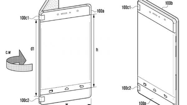 samsung folding phone patent 600x337 - مروری بر تمام آنچه که تاکنون درباره گلکسی نوت 9 میدانیم