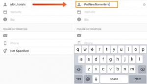 instazood3 3 300x172 - آموزش عوض کردن نام کاربری در اینستاگرام