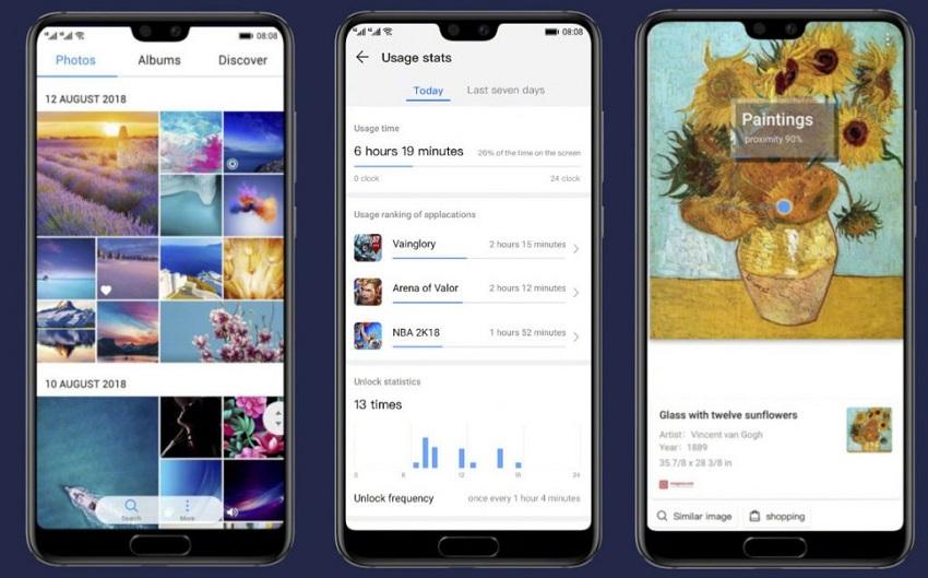 هواوی رابط کاربری EMUI 9.0 را برای 9 گوشی خود منتشر کرد