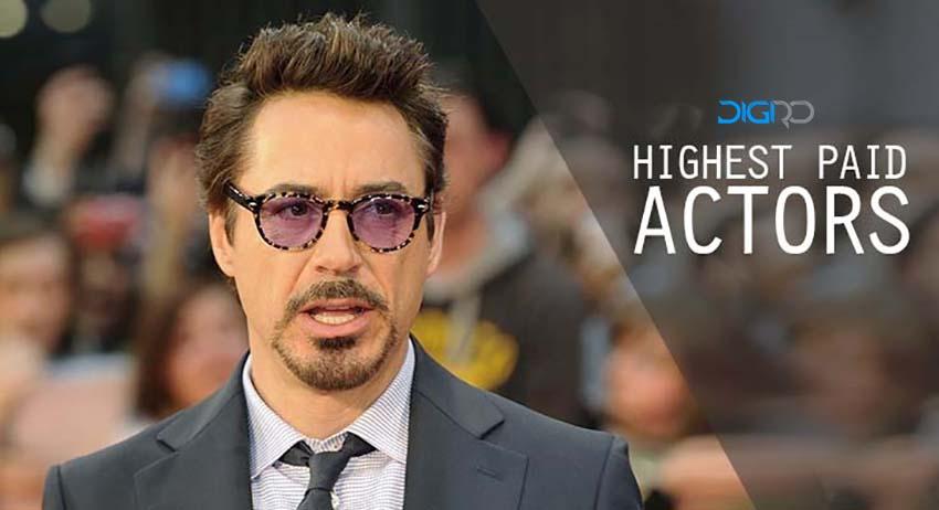 10 بازیگر هالیوودی که تاکنون بیشترین دستمزد را دریافت کردهاند