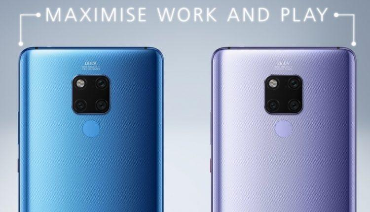 Huawei Mate 20 X back 750x430 - هواوی میت 20 ایکس با نمایشگر 7.2 اینچی و قلم رونمایی شد؛ رقیبی برای گلکسی نوت 9