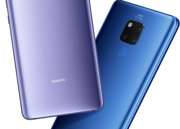 Huawei Mate 20 X colors 600x430 - هواوی میت 20 ایکس با نمایشگر 7.2 اینچی و قلم رونمایی شد؛ رقیبی برای گلکسی نوت 9