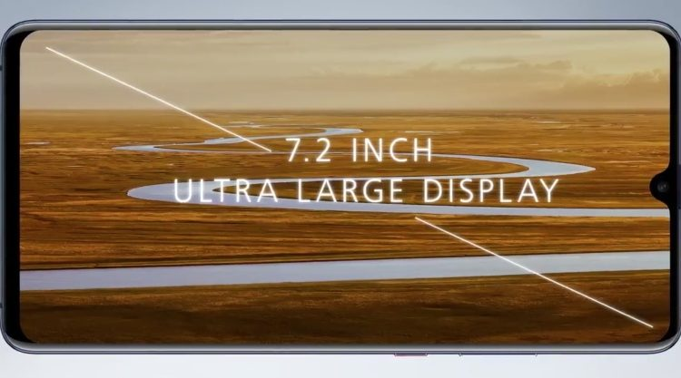 Huawei Mate 20 X display 750x417 - هواوی میت 20 ایکس با نمایشگر 7.2 اینچی و قلم رونمایی شد؛ رقیبی برای گلکسی نوت 9
