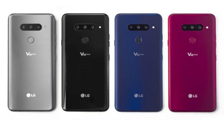 ال جی وی 40 تینکیو «LG V40 ThinQ»