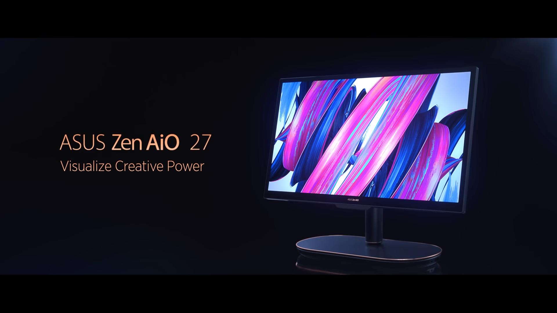کامپیوتر آل این وان 27 Asus Zen AiO رونمایی شد