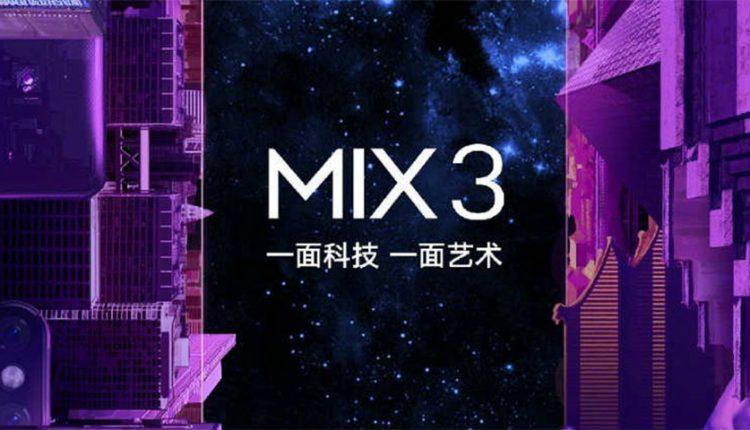 شیائومی می میکس 3 با رم 10 گیگابایتی و پشتیبانی از 5G در راه است!