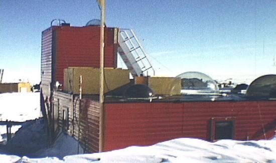 Plateau Station در قطب جنوب