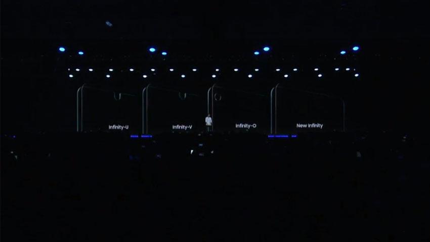 دو پانل جدید Infinity-V و Infinity-U سامسونگ با بریدگی بالای نمایشگر معرفی شد