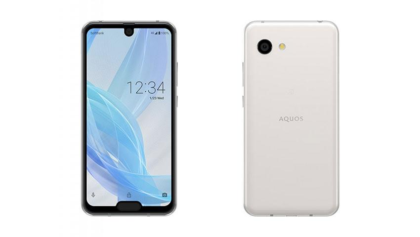 شارپ گوشی «آکواس آر 2 کامپکت» را با دو بریدگی صفحه نمایش معرفی کرد!