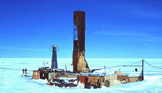 Vostok درقطب جنوب