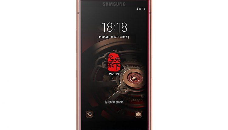 W2019 5 750x430 - گوشی تاشوی W2019 سامسونگ معرفی شد؛ پرچمداری قدرتمند با دو نمایشگر امولد