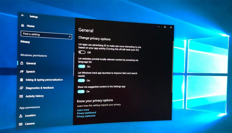 آشنایی با برخی تنظیمات حریم خصوصی ویندوز 10 که باید آنها را تغییر دهید!