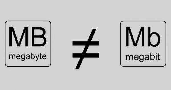 آیا مگابیت و مگابایت با هم فرق دارند