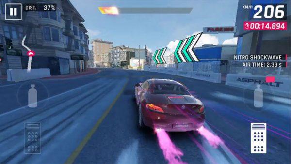 Asphalt 9 Screenshot 600x339 - 3 بازی ماشین سواری برتر موبایلی که در سال 2018 میتوانید تجربه کنید