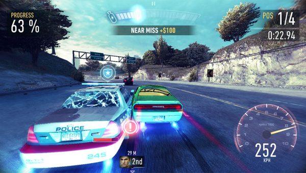 Need For Speed No Limits Gameplay 600x339 - 3 بازی ماشین سواری برتر موبایلی که در سال 2018 میتوانید تجربه کنید