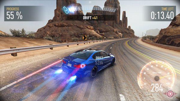 Need For Speed No Limits Screenshot 600x339 - 3 بازی ماشین سواری برتر موبایلی که در سال 2018 میتوانید تجربه کنید