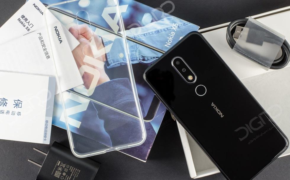 بررسی نوکیا ایکس 6 - Nokia X6
