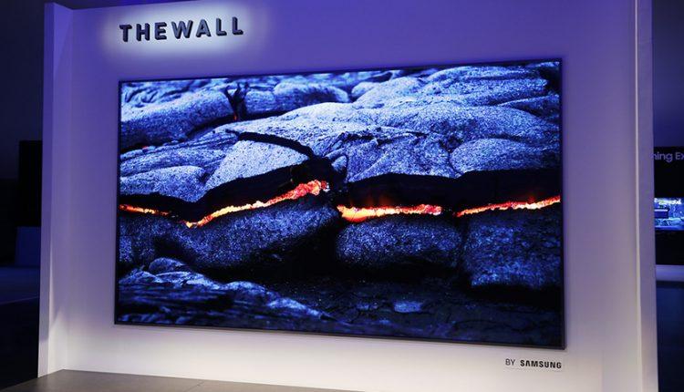 تلویزیونهای MicroLED دیواری سامسونگ، تحولی در صنعت تلویزیون