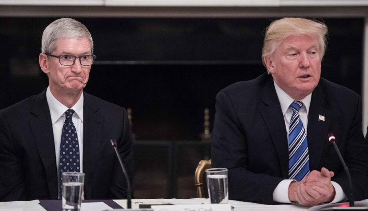 ترامپ خطاب به اپل آیفون را در آمریکا بسازید نه در چین