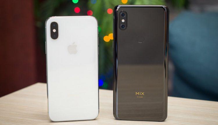 مقایسه دوربین Mi Mix3 و آیفون XS