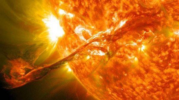 طوفان بزرگ خورشیدی