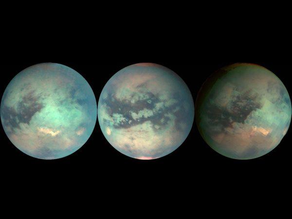 ثبت تصاویری از قمر تیتان طی کاوش