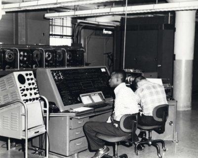 تاریخچه دنیای تکنولوژی: کامپیوتر UNIVAC I در مرکز سنسوس بیورو