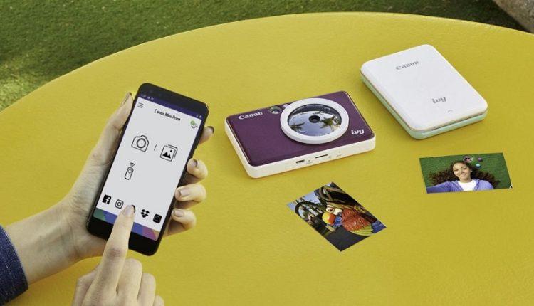دوربینهای عکاسی چاپ فوری کانن CLIQ و CLIQ پلاس معرفی شدند