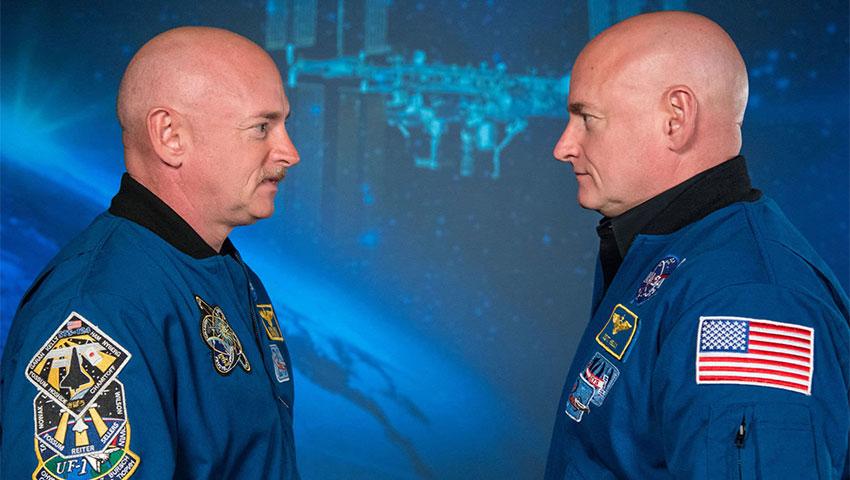 فضانوردان دوقلو