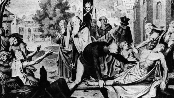 طاعون سیاه به مرگ یک سوم جمعیت اروپا منجر شد