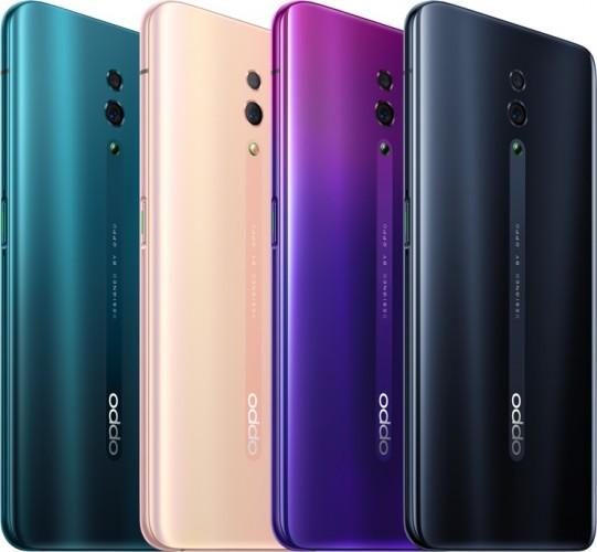 عرضه Oppo Reno در چهار رنگ مختلف