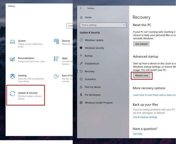 راههای مختلف ورود به حالت امن (Safe Mode) در ویندوز 10