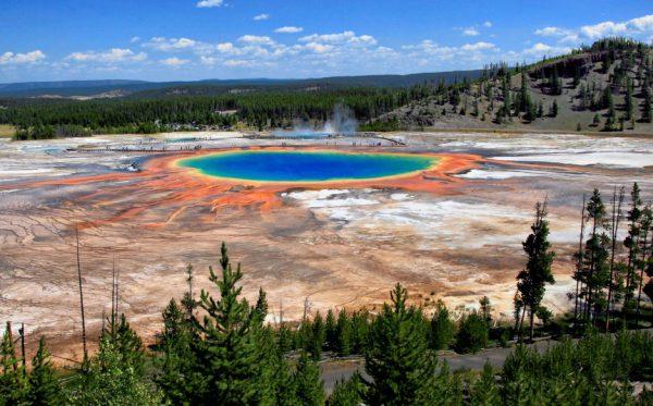 مکانهای دیدنی جهان: چشمه آب گرم گرند پریسماتیک
