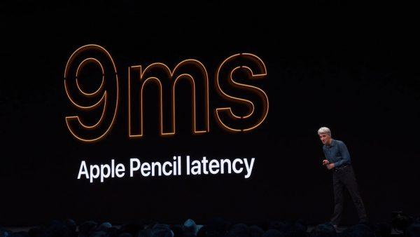 سرعت پاسخگویی Apple Pencil بیشتر میشود