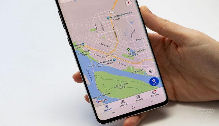 به اشتراک گذاری موقعیت مکانی در گوگل مپ