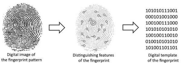 اسکنر اثر انگشت چگونه کار میکند؟