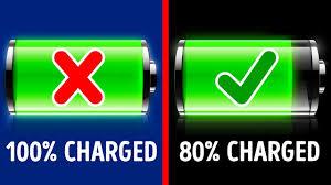 عادت های صحیح شارژ باتری