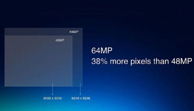 گوشی ردمی با دوربین 64 مگاپیگسلی
