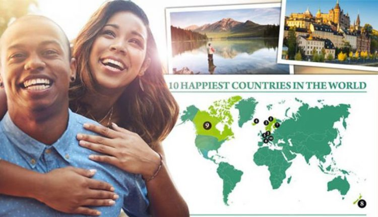 شادترین کشورهای جهان