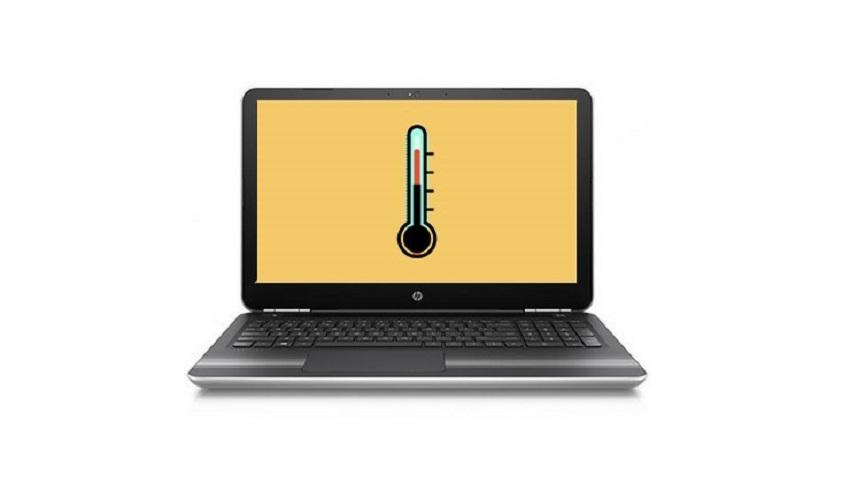 دمای پردازنده لپ تاپ