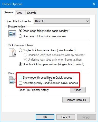 ترفندهای فایل اکسپلورر