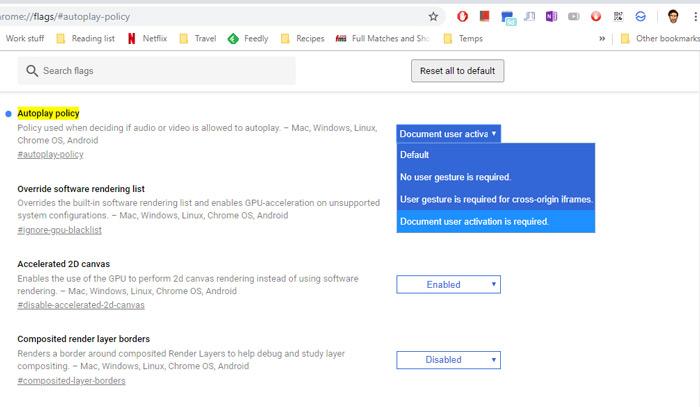 غیرفعال کردن پخش خودکار ویدئو در کروم و فایرفاکس