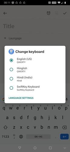 استفاده از Gboard برای تایپ به زبان های مختلف در اندروید