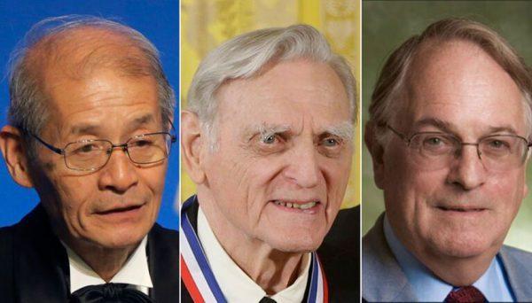 برندگان نوبل شیمی 2019