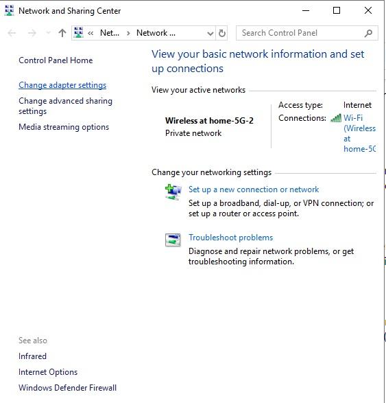 رفع خطای DNS Server is not responding
