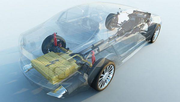باتری لیتیوم یون در خودرو