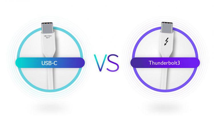 تاندربولت 3 و USB-C